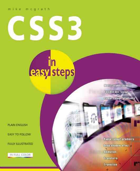 Css3 in Easy Steps By McGrath, Mike